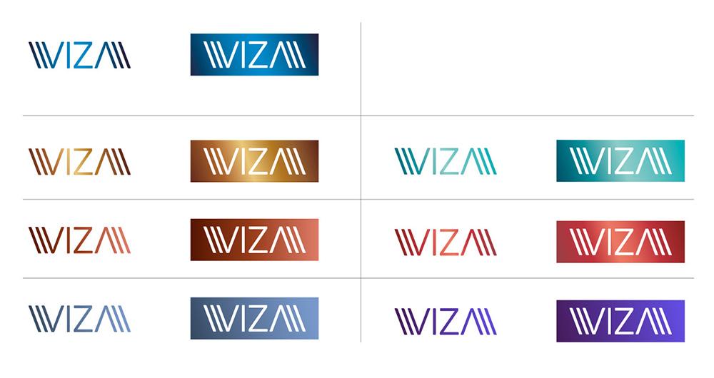 Поиск цветового решения логотипа.