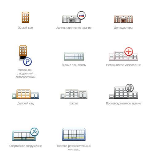 Иконки и пиктограммы для сайта компании ТСЗ.